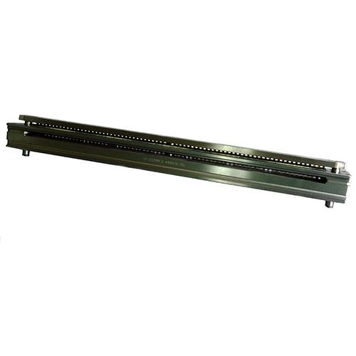 "Děrovací jednotka EX 610 Kovové hřbety 3/1"" - s výsekem - čtvercové otvory 4 x 4 (1-dílná) (70)"