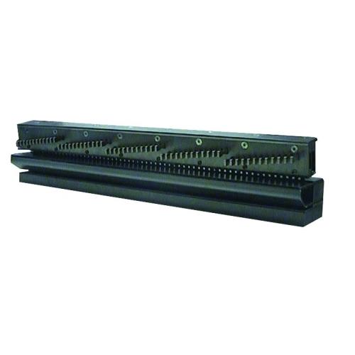 """Děrovací jednotka Punch 500 2/1"""" - čtvercové otvory 6 x 6 mm (1-dílná)"""