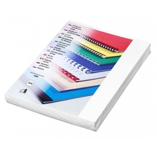 Desky Futura A4 bílé