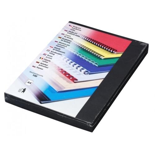 Desky Linen A4 černé