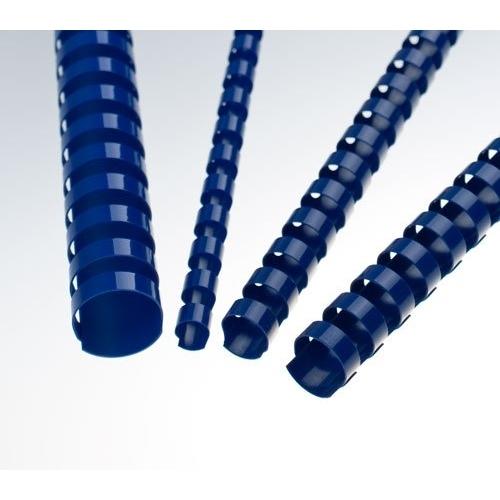 Plastové hřbety 14 modré